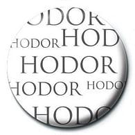 Placka Game of Thrones - Hodor