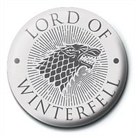 Placka Game of Thrones - Lord of Winterfell