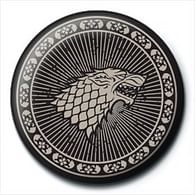 Placka Game of Thrones - Stark Sigil