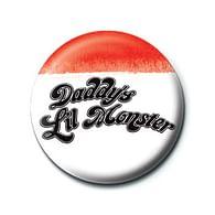 Placka Harley Quinn - Daddy's Lil Monster