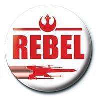 Placka Star Wars - Rebel