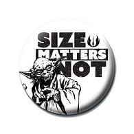 Placka Star Wars - Size Matters Not