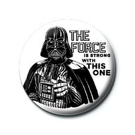 Placka Star Wars - The Force is Strong