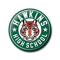 Placka Stranger Things - Hawkins High School