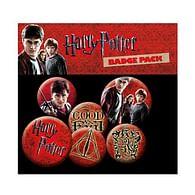 Placky Harry Potter Icons - 6 ks