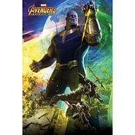 Plakát Avengers: Infinity War - Thanos