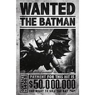 Plakát Batman - Arkham Wanted