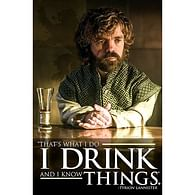 Plakát Game of Thrones - Drinking Tyrion