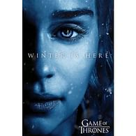 Plakát Game of Thrones - Winter is Here Daenerys