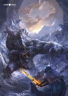 Plakát Lone Wolf - Kaltské jeskyně