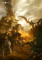 Plakát Lone Wolf - Útok ze tmy
