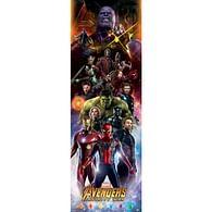 Plakát na dveře Avengers: Infinity War - Postavy