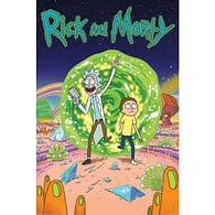 Plakát Rick And Morty - Portal