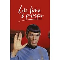 Plakát Star Trek - Live Long and Prosper