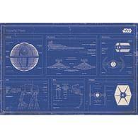 Plakát Star Wars - Imperial Fleet