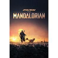 Plakát Star Wars: Mandalorian - Dusk
