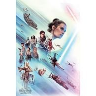 Plakát Star Wars: Rise of Skywalker - Rey
