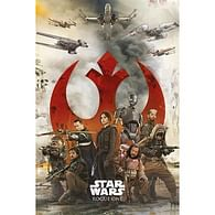 Plakát Star Wars - Rogue One: Rebels