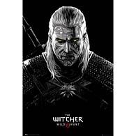 Plakát Zaklínač 3: Divoký hon - Geralt