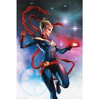 Plakát Captain Marvel - Galaxy