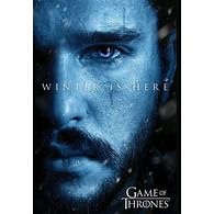 Plakát Game of Thrones - Winter is Here Jon
