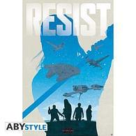 Plakát Star Wars: Last Jedi - Resist