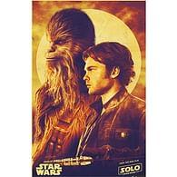 Plakát Star Wars Solo: Han and Chewie