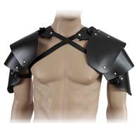 Plátová ramena z kůže