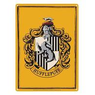 Plechová cedule Harry Potter - Hufflepuff