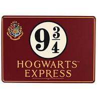 Plechová cedule Harry Potter - Nástupiště 9 a 3/4 (A5)