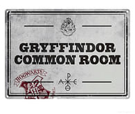 Plechová cedule na zeď Harry Potter - Common Room