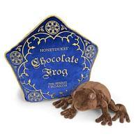 Plyšák s polštářem Harry Potter - Čokoládová žabka