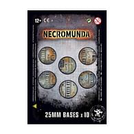 Podstavce Necromunda: 25mm (10 ks)