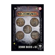 Podstavce Necromunda: 32mm (10 ks)