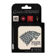 Podtácky Game of Thrones - Houses (4 ks)