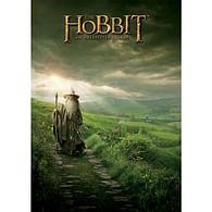 Pohlednice Hobit - Gandalf