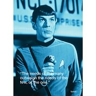 Pohlednice Star Trek - Spock iQuote