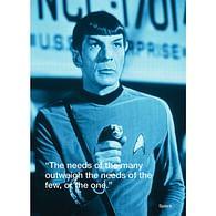 Pohlednice Star Trek - Spock iQuote