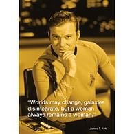 Pohlednice Star Trek - James T. Kirk iQuote