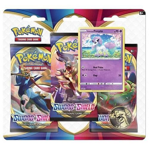Pokémon: Sword and Shield 3-Pack Blister Galarian Ponyta