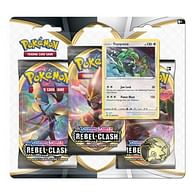 Pokémon: Sword and Shield Rebel Clash 3-Pack Rayquaza Blister