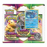 Pokémon TCG: SWSG Vivid Voltage 3-Pack Blister - Vaporeon