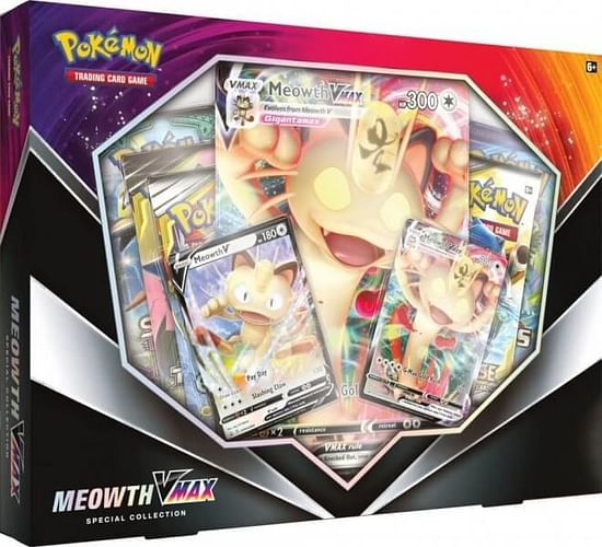 Pokémon: Meowth Vmax Special Collection (January) Box