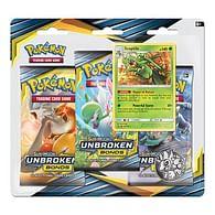 Pokémon: Sun and Moon 10 - Unbroken Bonds Sceptile 3 Pack