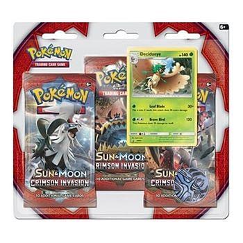 Pokémon: Crimson Invasion 3-Pack Booster Blister - Decidueye