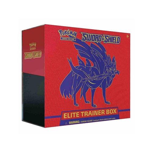 Pokémon: Sword & Shield Zacian Elite Trainer Box