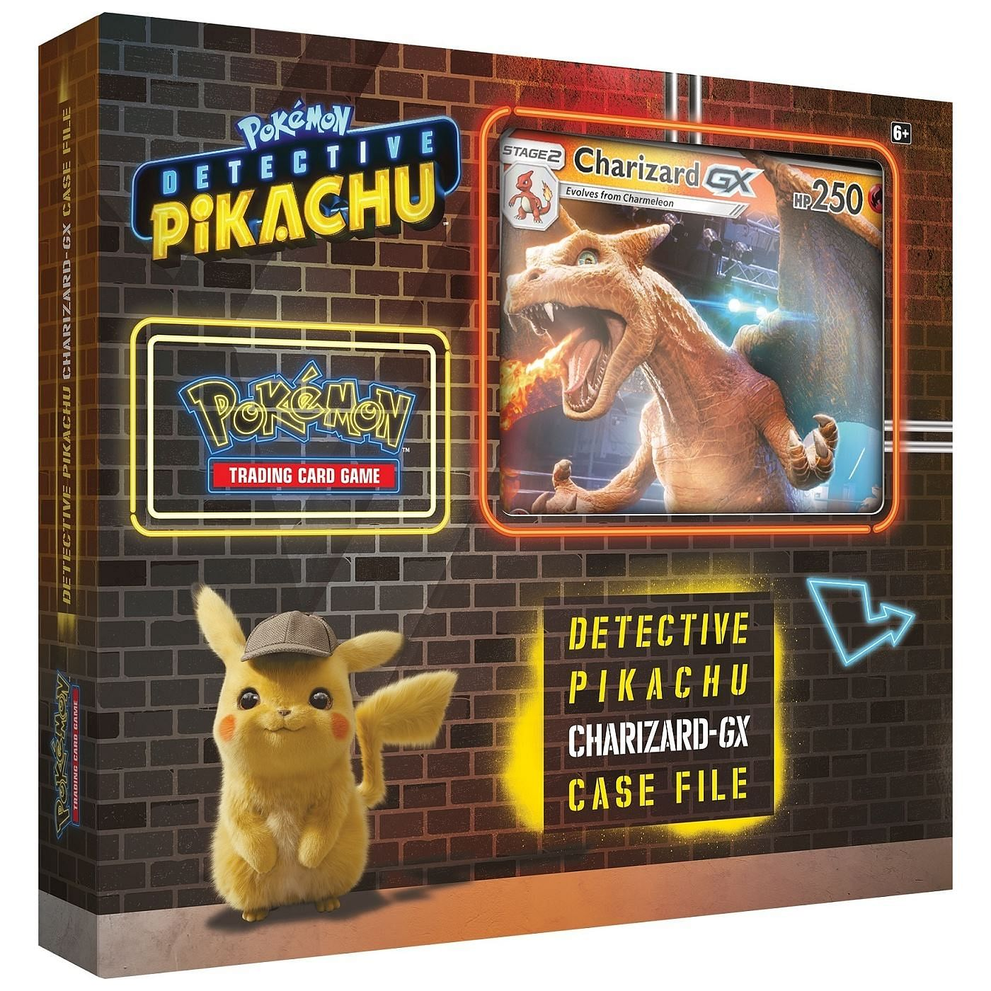 Pokémon: Detective Pikachu Charizard-GX Case File