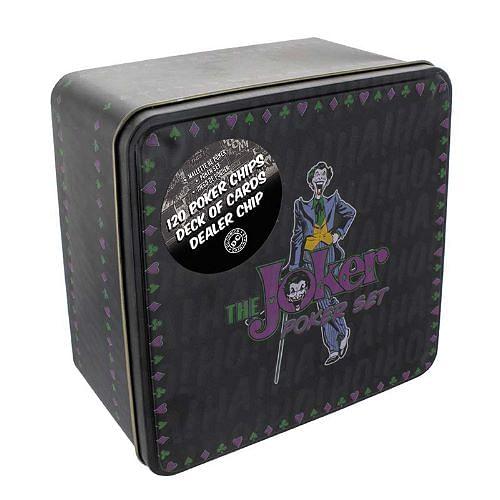 Karetní hra Pokerová sada DC Comics - The Joker