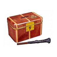 Pokladnička Harry Potter - Bradavická truhla s hůlkou - poškozeno