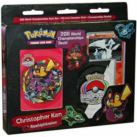 Pokémon: 2011 World Championships Deck - Christopher Kan